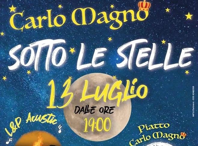 Evento dedicato a Carlo Magno all'Agriturismo Il Riccio