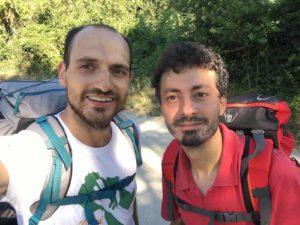Antonio Votino e Andrea Grava, gli ideatori del Cammino di Carlo Magno